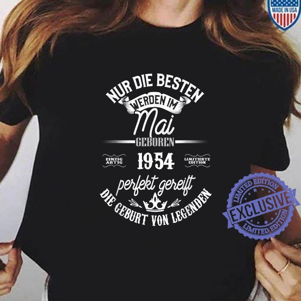 67. Geburtstag Legendär seit Mai 1954 Shirt ladies tee