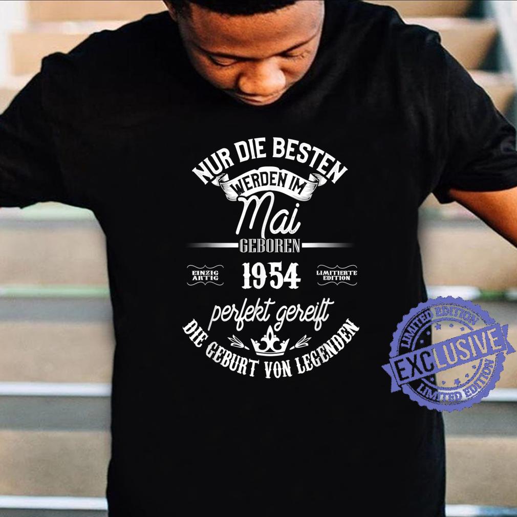 67. Geburtstag Legendär seit Mai 1954 Shirt