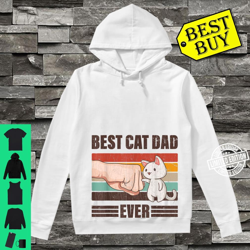 Mens Best Cat Dad Ever Father's Day Daddy Shirt hoodie