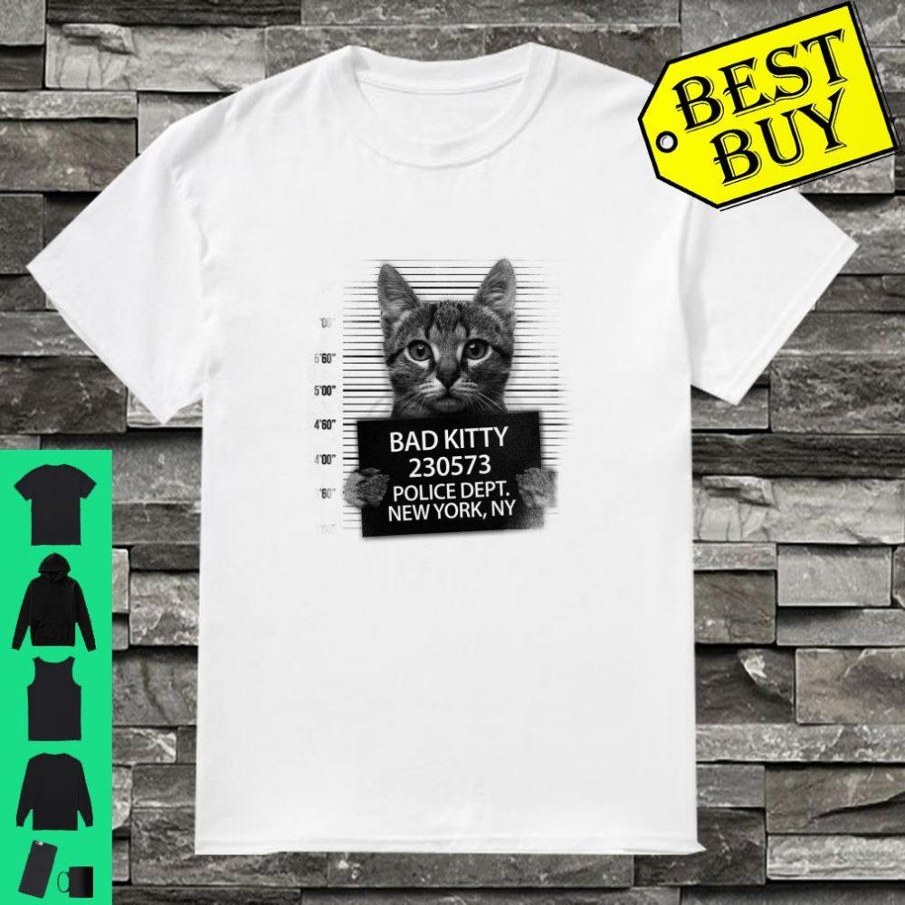Bad Kitty Cat New York, NY shirt
