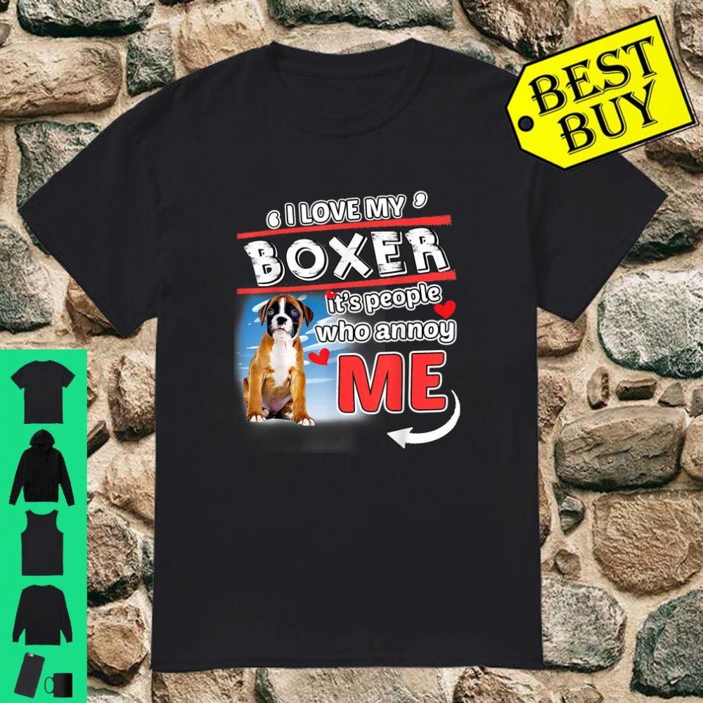Boxer I Love Shirt