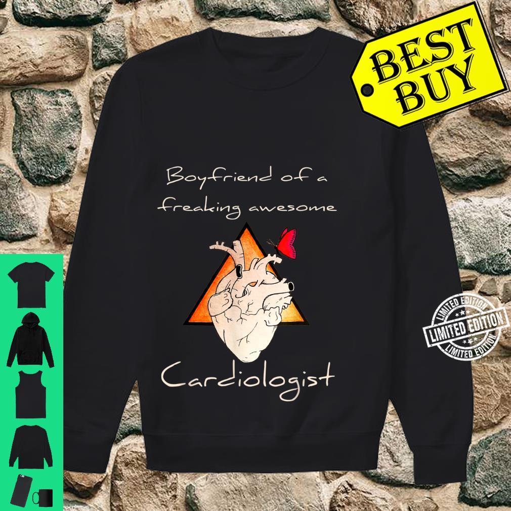 Boyfriend Of A Cardiologist Valentine's Day Shirt sweater