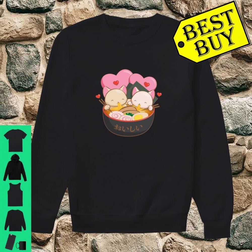 Cute Ramen and Cats Anime Kawaii Ramen Cat Shirt sweater