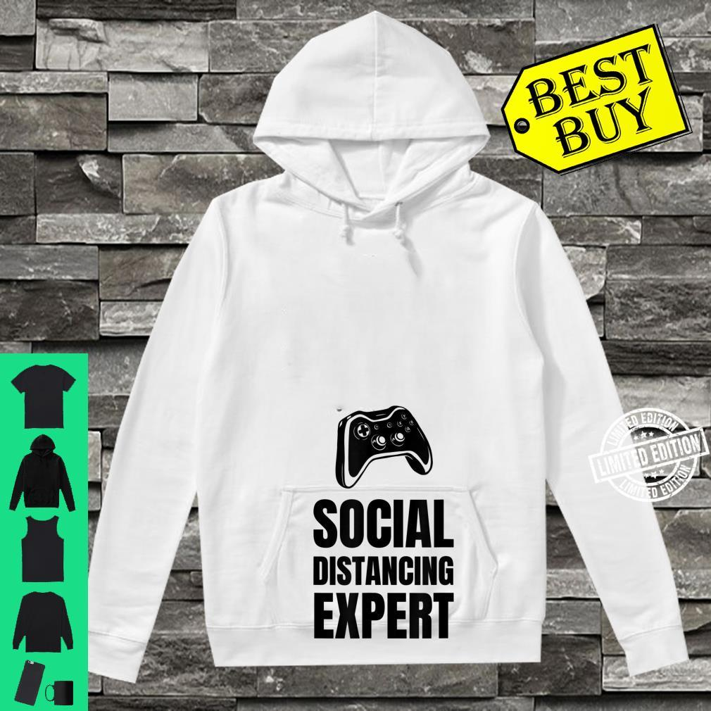 Funny For Gamers Social Distancing Shirt hoodie