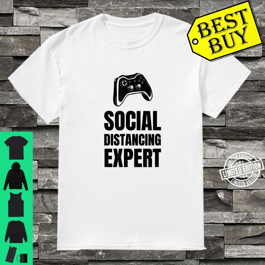 Funny For Gamers Social Distancing Shirt