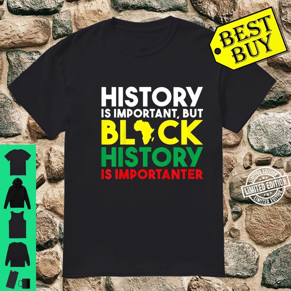 Kids Black History Month For Shirt