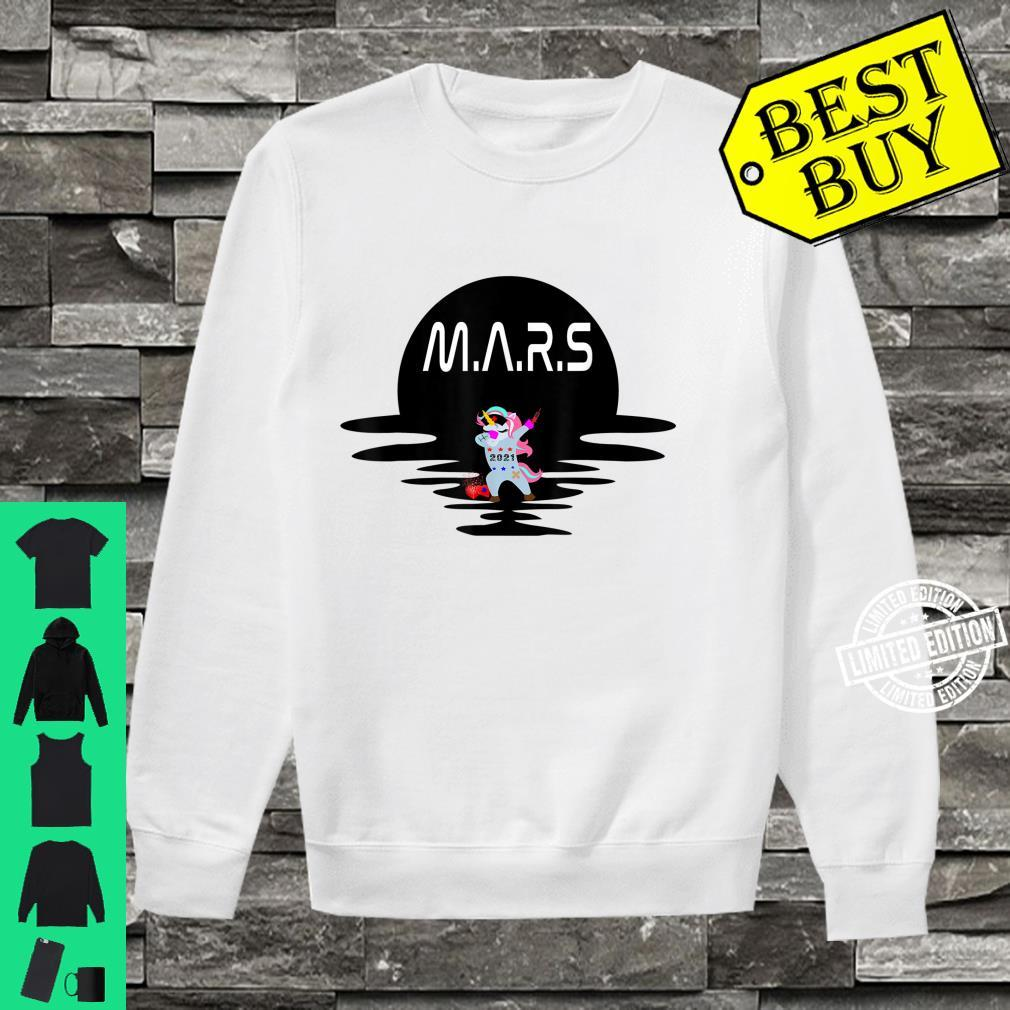 Mars Design With Space Unicorn Planet Space Shirt sweater