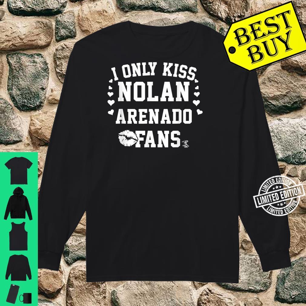 Nolan Arenado I Only Kiss Apparel Shirt long sleeved