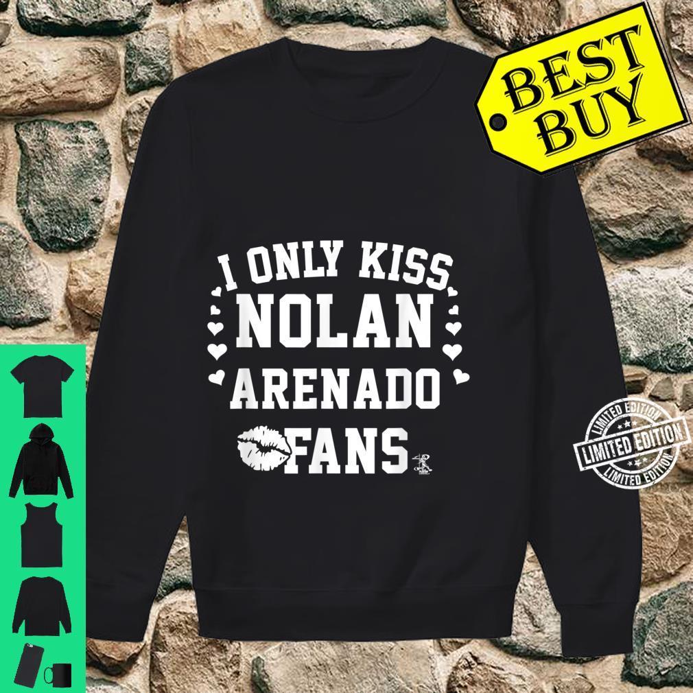 Nolan Arenado I Only Kiss Apparel Shirt sweater