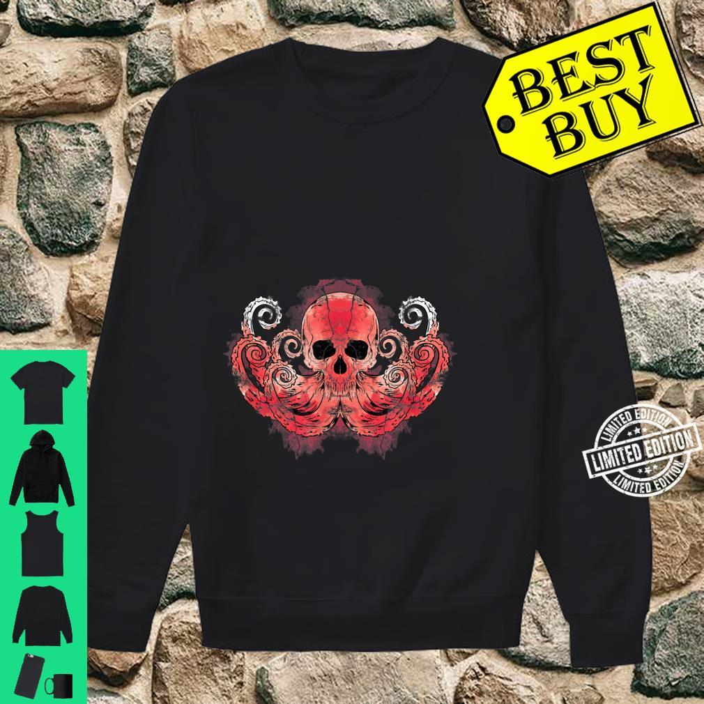 Octopus Predator Kraken Skull Octopus Shirt sweater