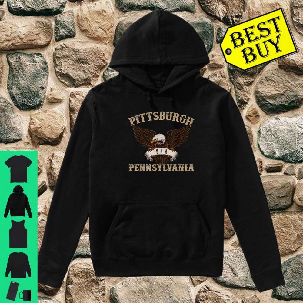 Pittsburgh USA Bald Eagle shirt hoodie