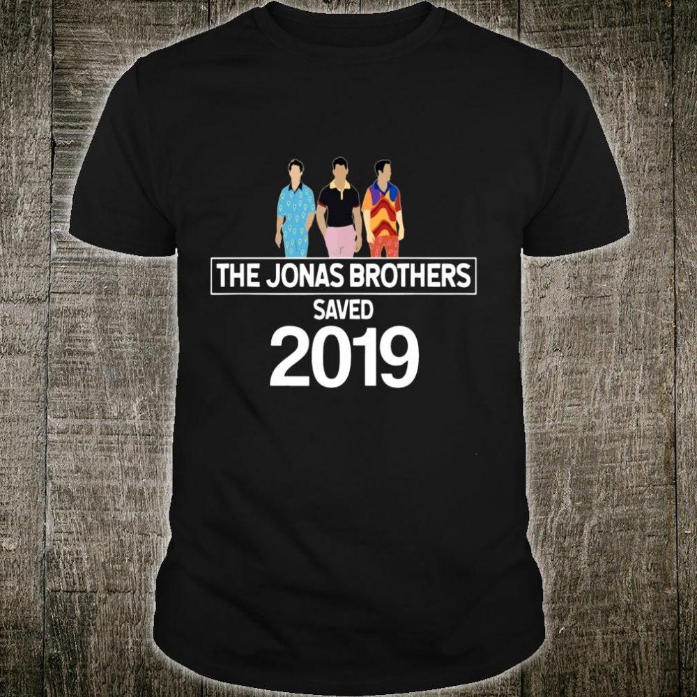 Retro The Jonas Brothers Saved 2019 shirt