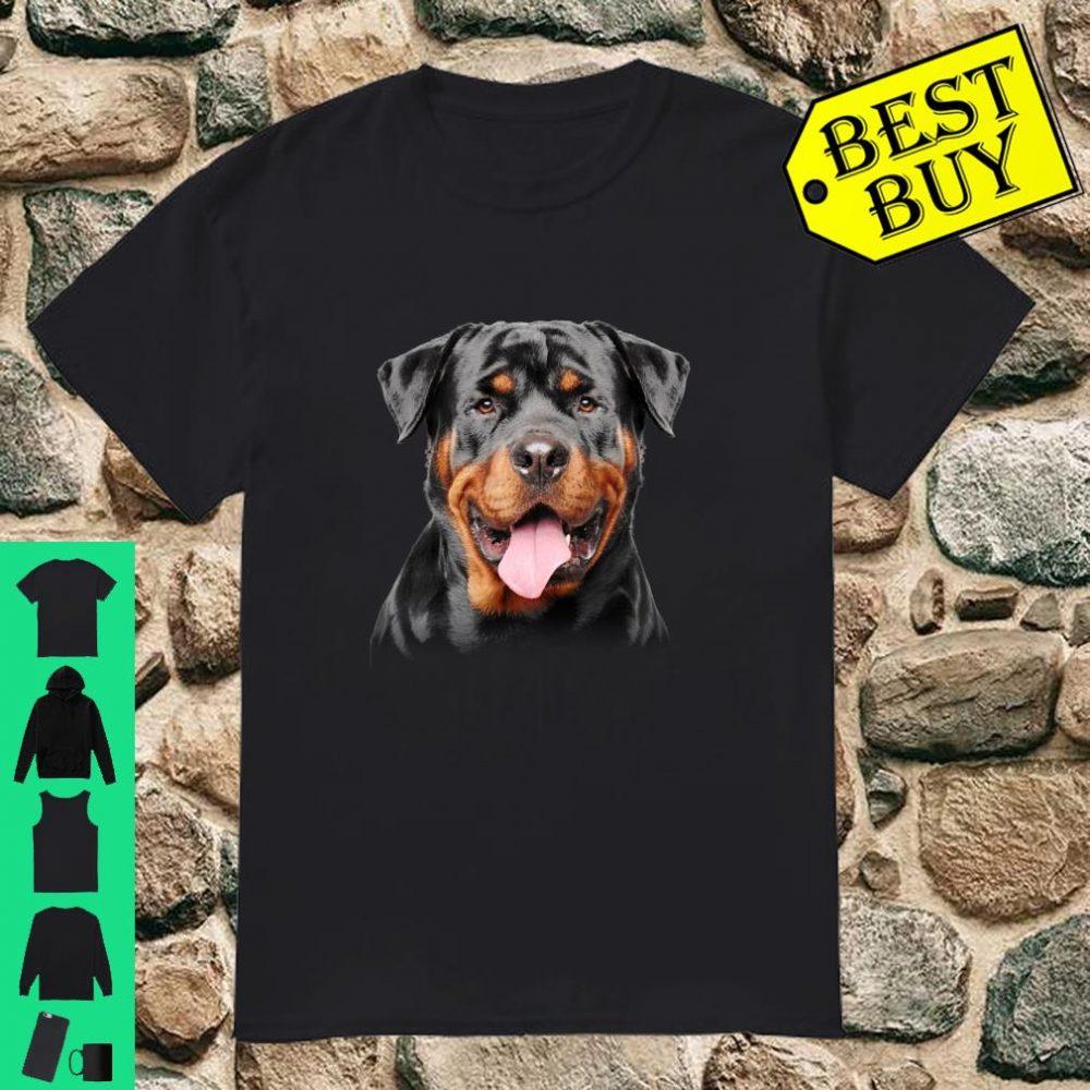 Rottweiler dog Face Christmas dog lover shirt