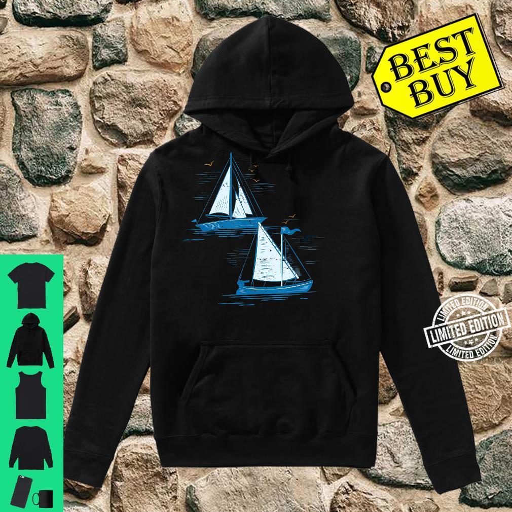Segelboot Segeln Shirt hoodie