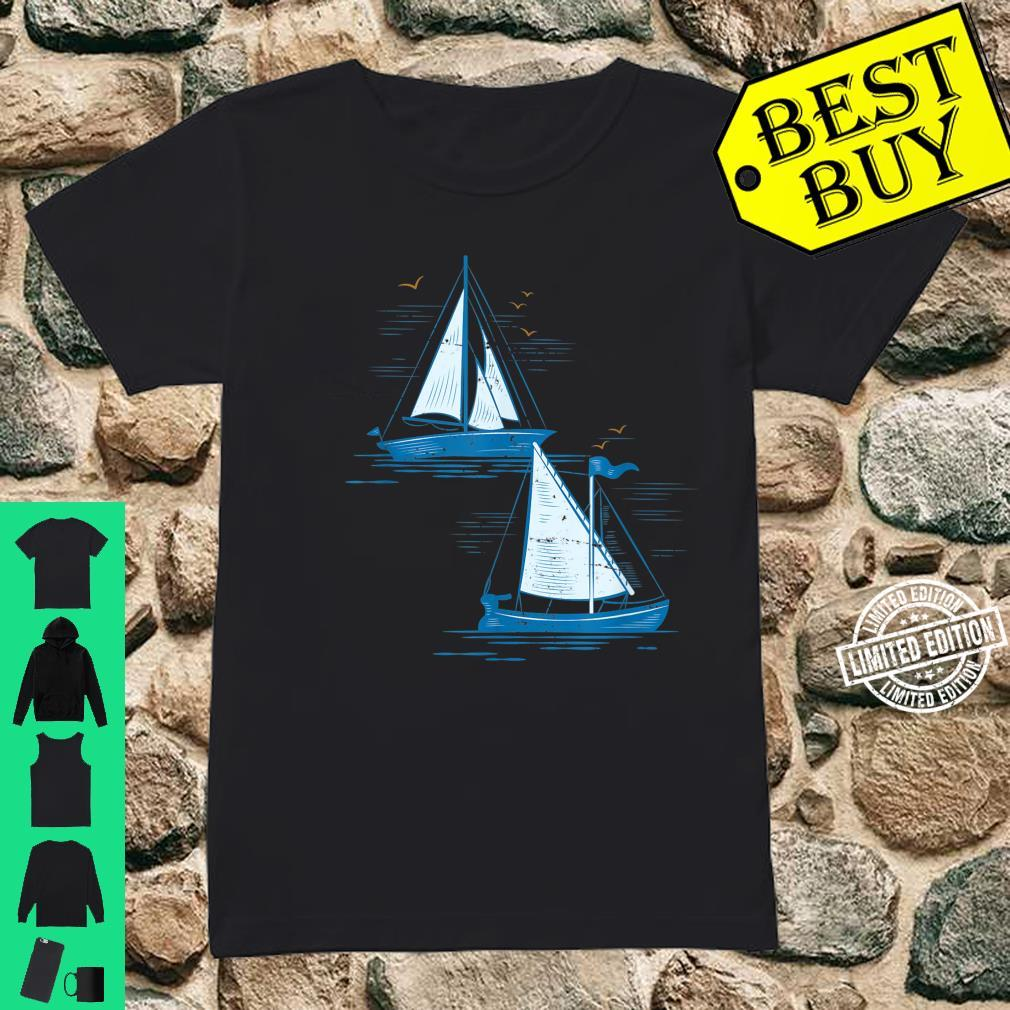 Segelboot Segeln Shirt ladies tee