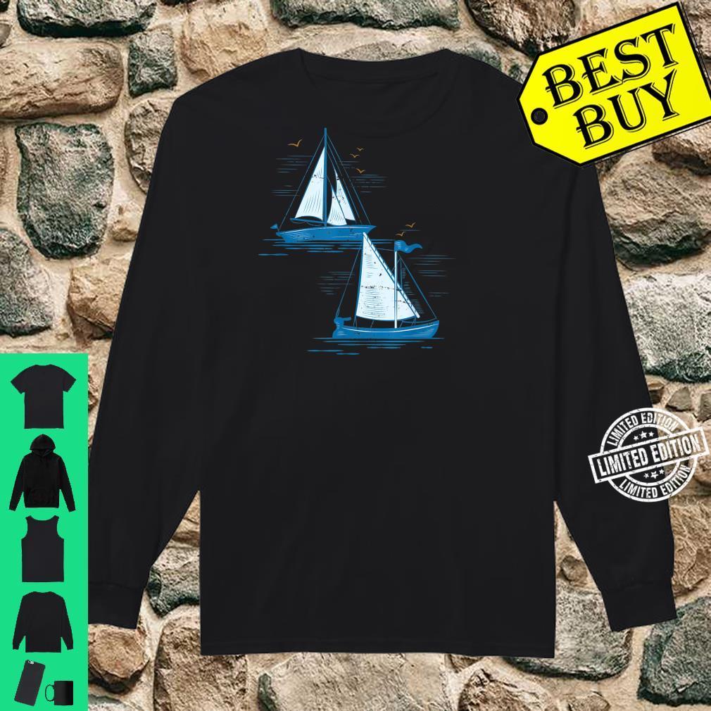 Segelboot Segeln Shirt long sleeved