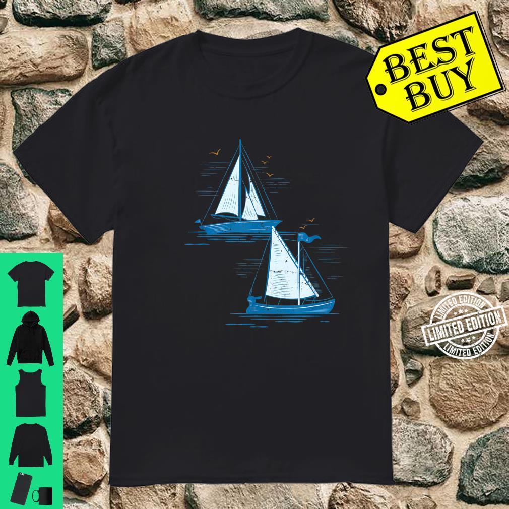 Segelboot Segeln Shirt
