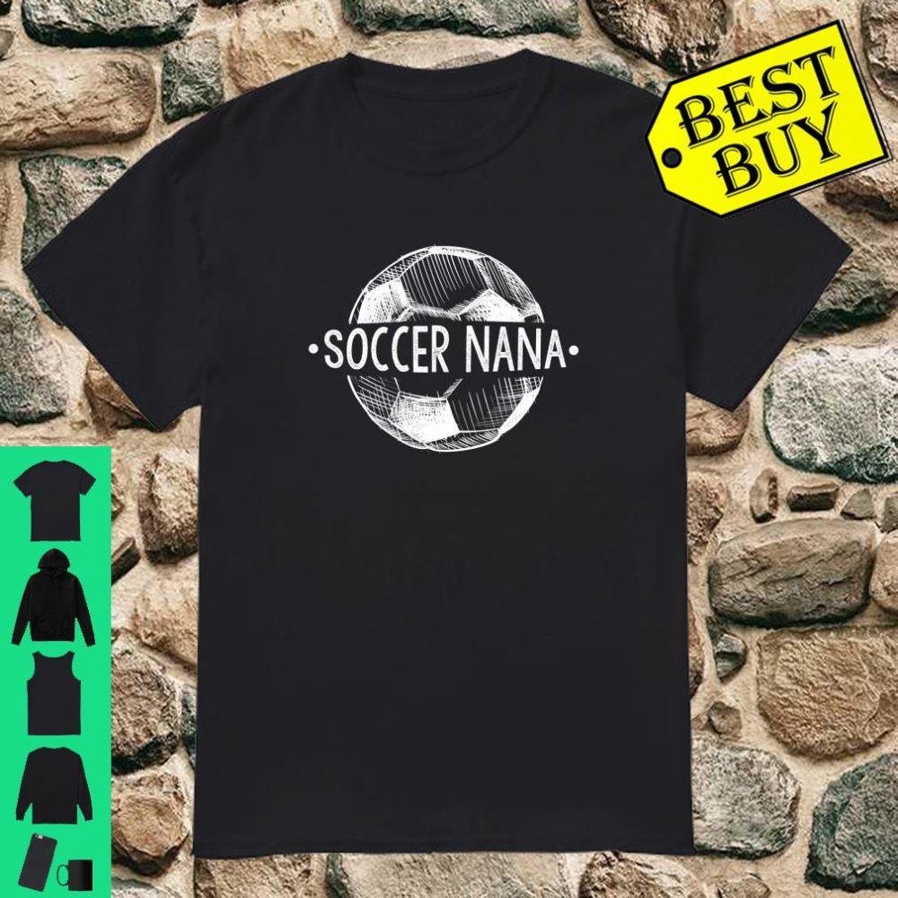 Soccer Nana Family Matching Team Player Sport Shirt