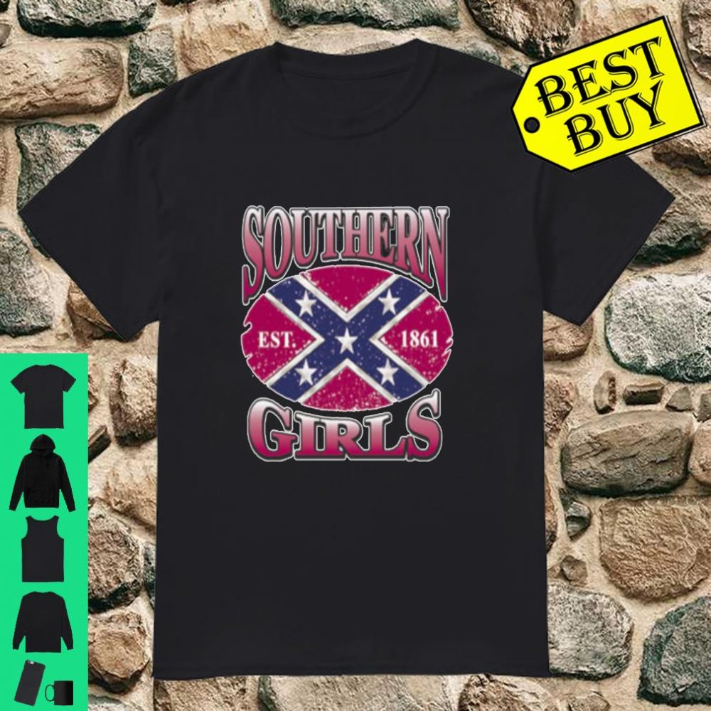Southern Girls All American American Patriot shirt