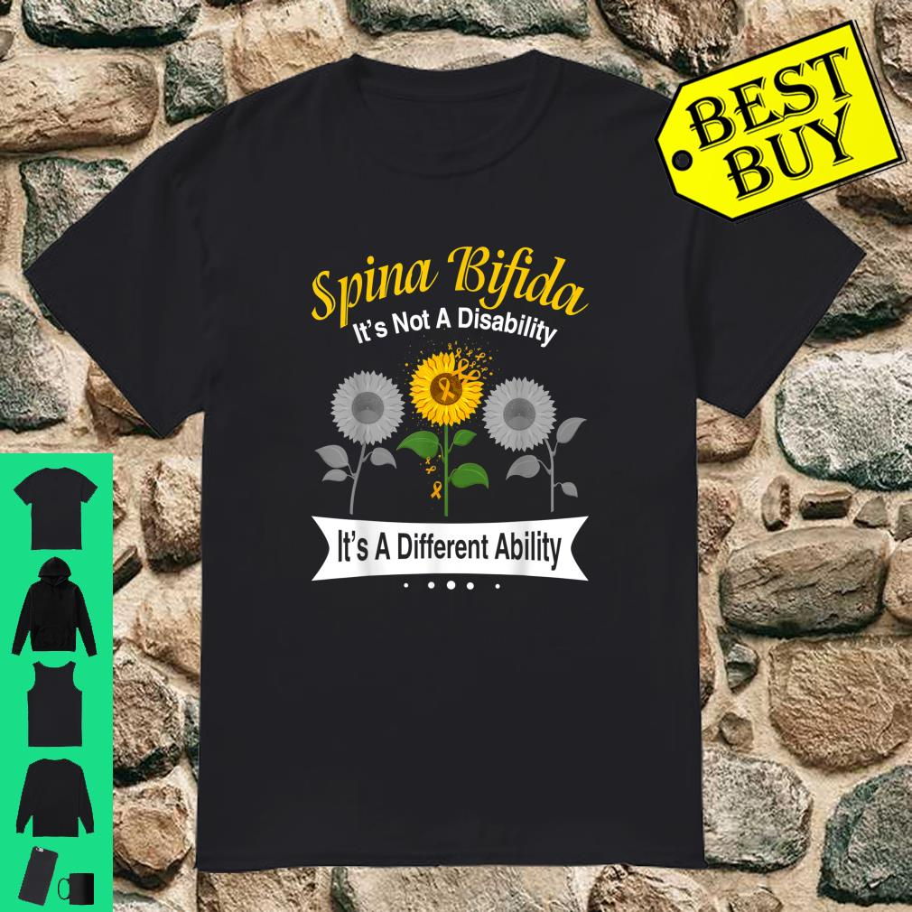 Spina Bifida It's Not A Disability It's A Different Ability shirt