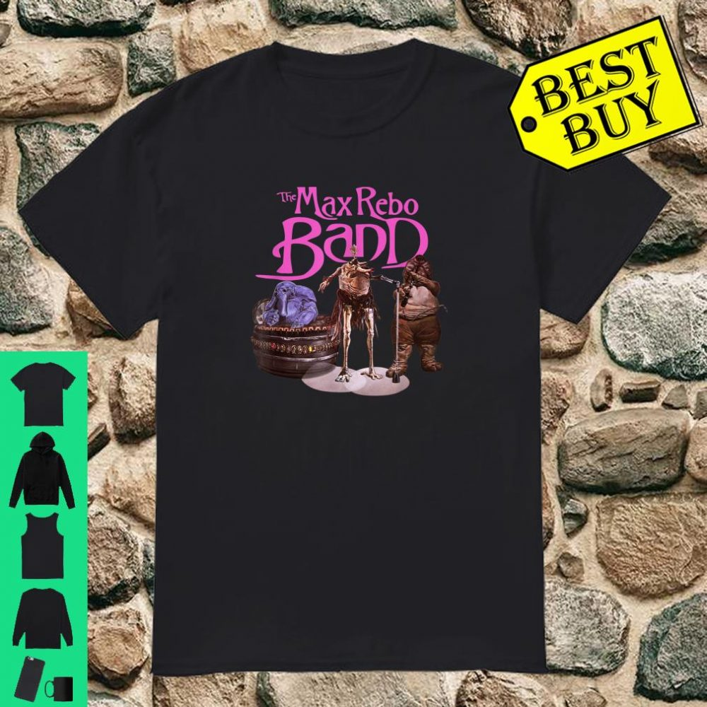 Star Wars Max Rebo Band Poster shirt
