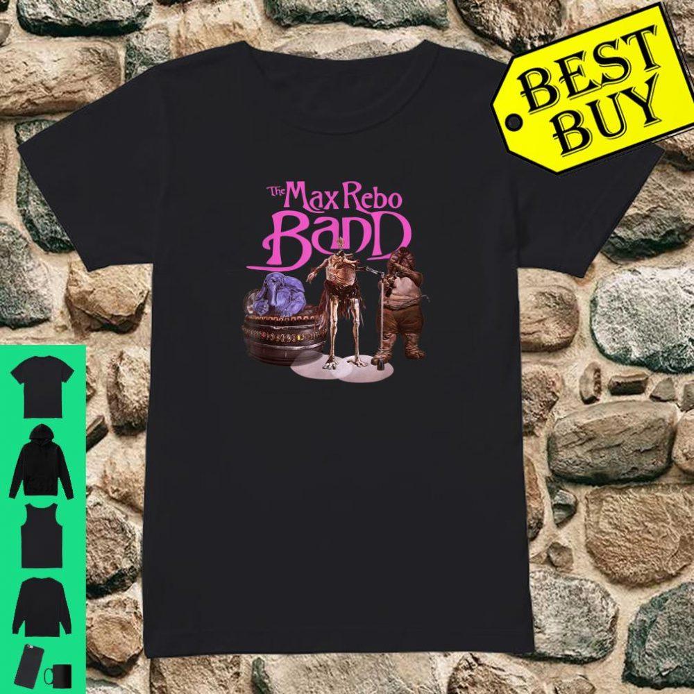 Star Wars Max Rebo Band Poster shirt ladies tee