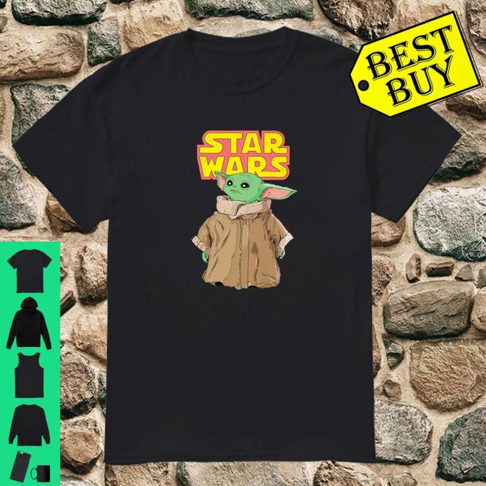 Star Wars The Mandalorian The Child Cute Stare Logo shirt
