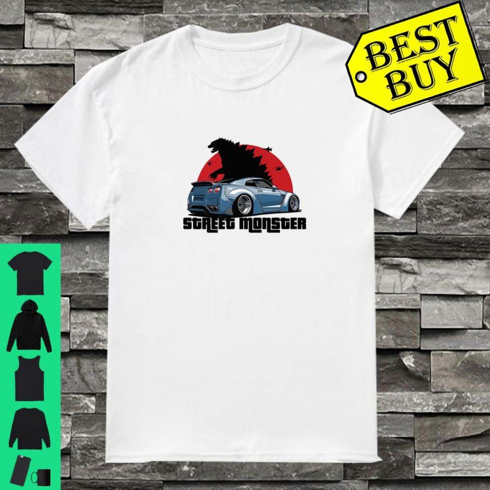 Street Monster Car Shirt