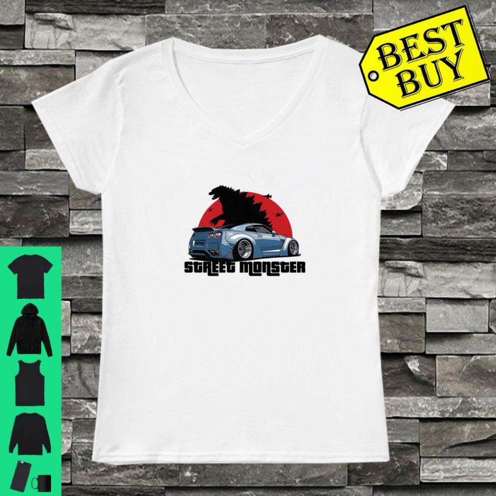 Street Monster Car Shirt ladies tee