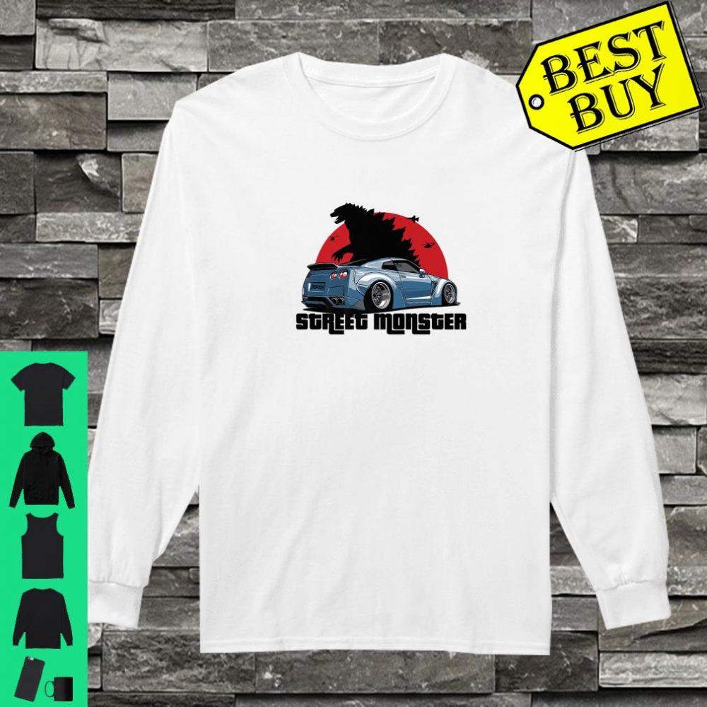 Street Monster Car Shirt long sleeved