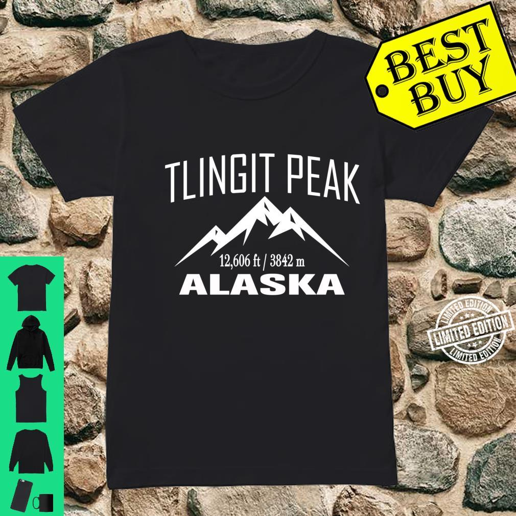 TLINGIT PEAK ALASKA Climbing Summit Club Outdoor Shirt ladies tee