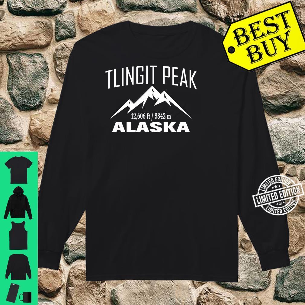 TLINGIT PEAK ALASKA Climbing Summit Club Outdoor Shirt long sleeved
