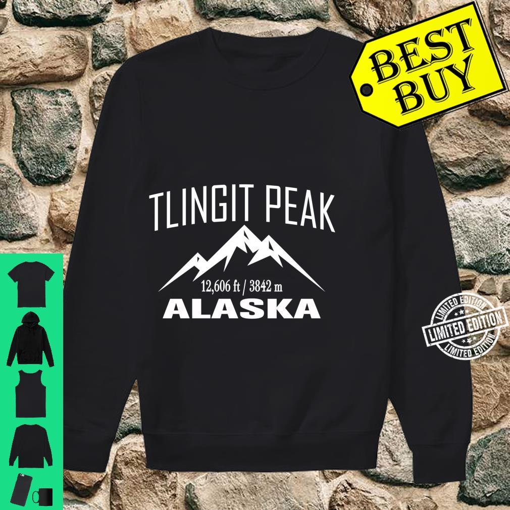 TLINGIT PEAK ALASKA Climbing Summit Club Outdoor Shirt sweater
