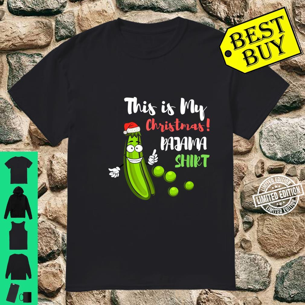 This Is My Pickle Christmas Shirt Pickles Cucumber Shirt