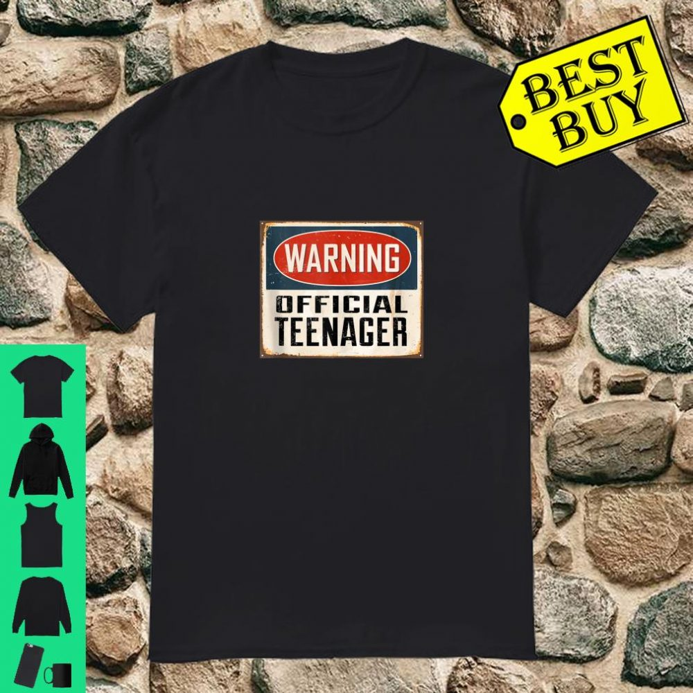 Warning Aneisha Official Teenager 13th Birthday shirt