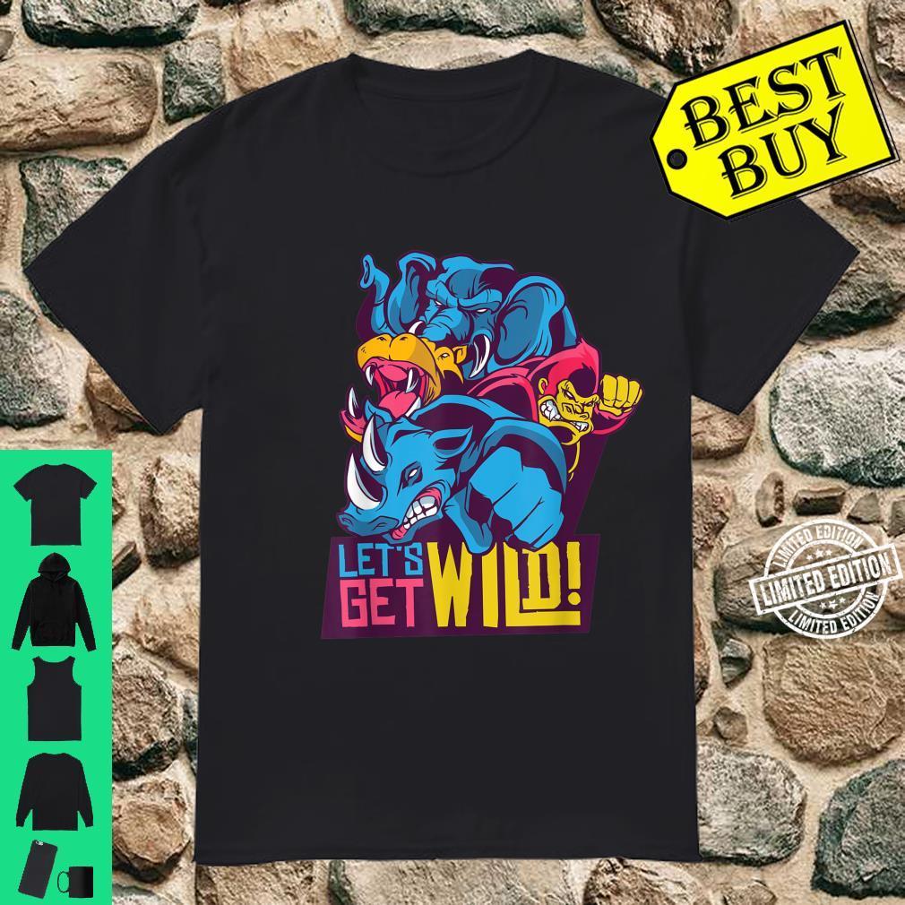 Wild animals colorful Shirt