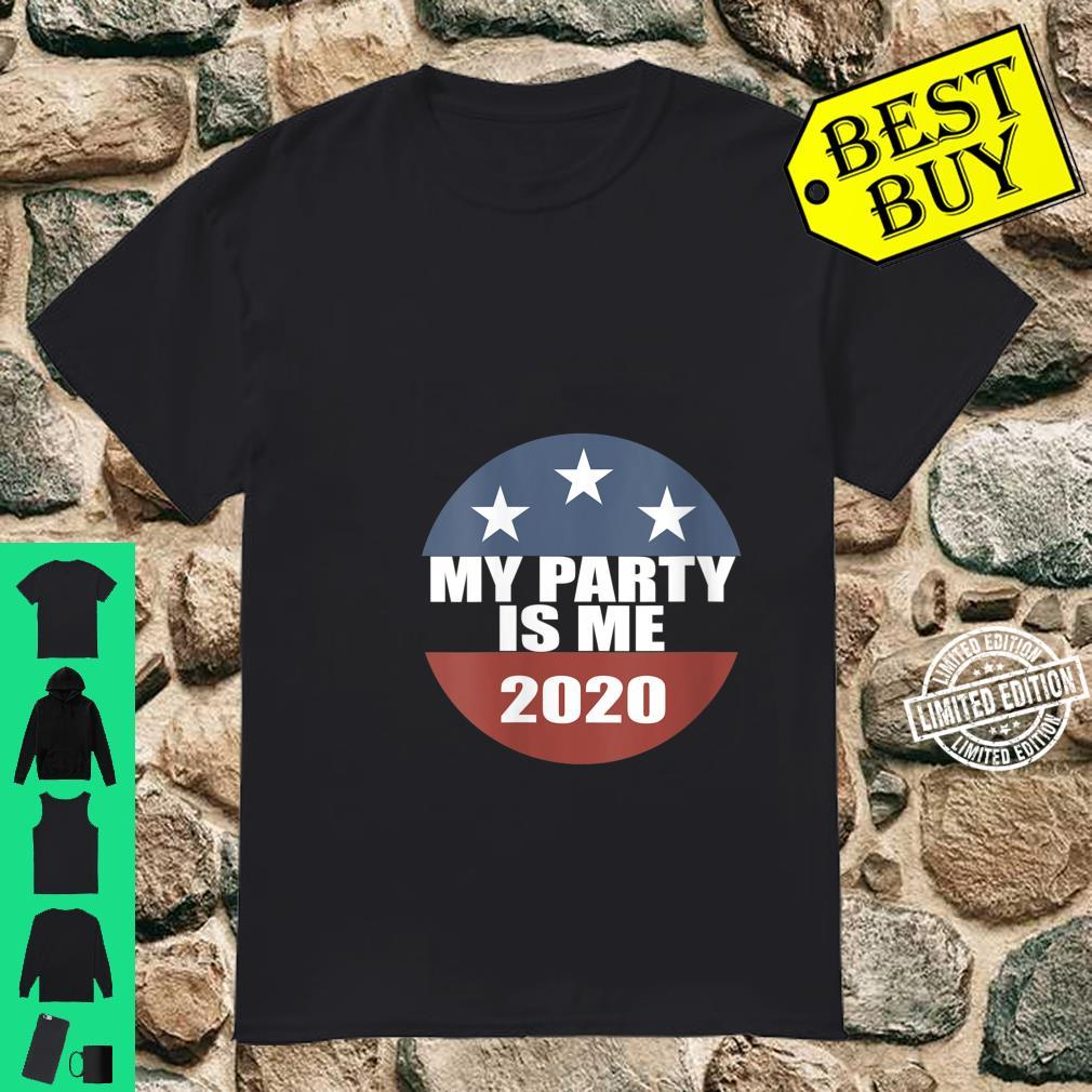 Womens My Party Is Me Shirt