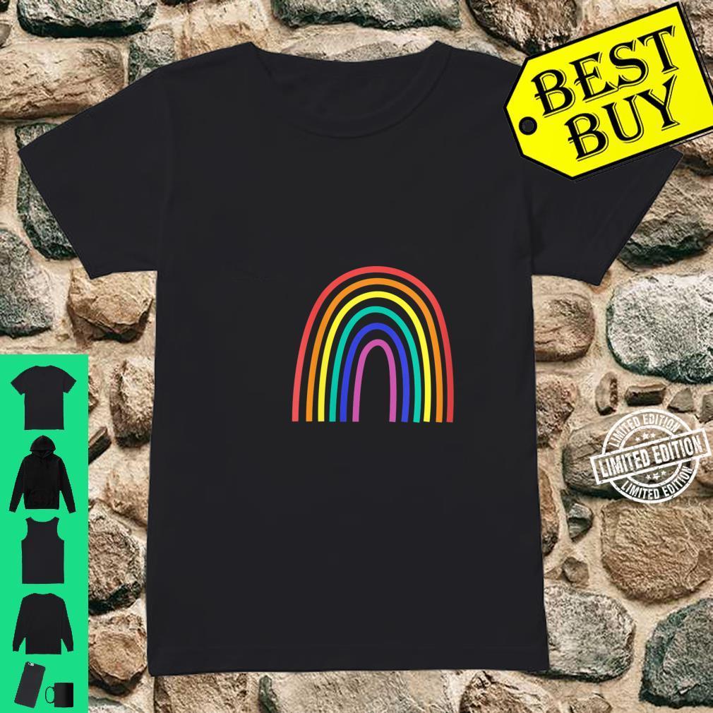 Womens Rainbow Shirt ladies tee