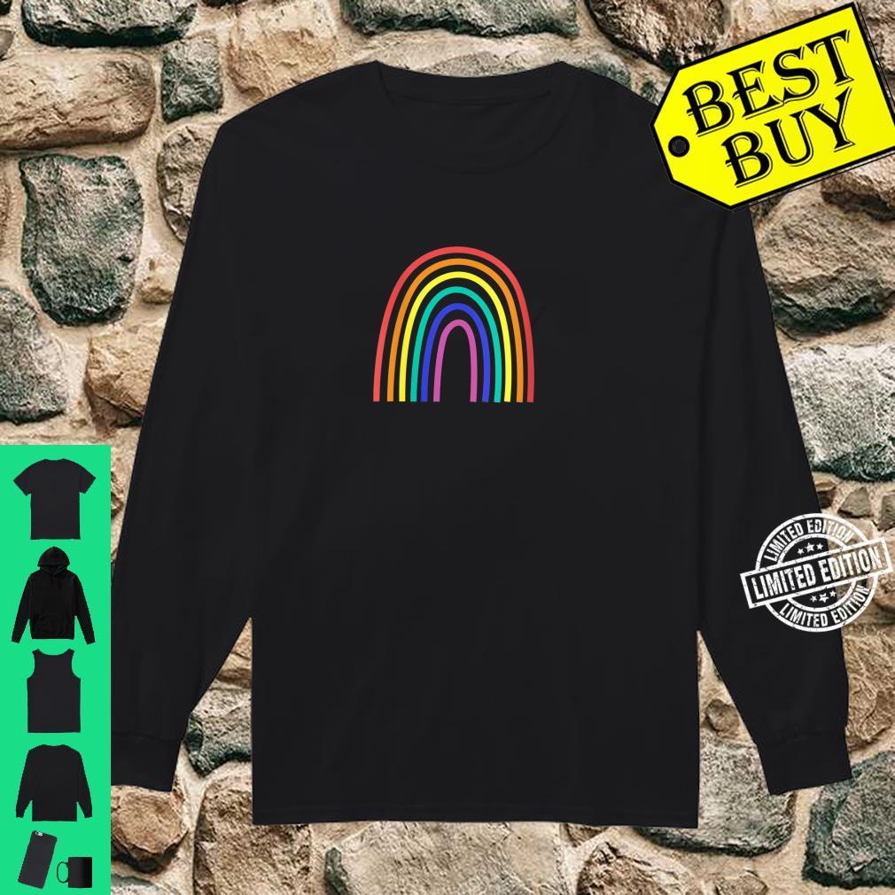 Womens Rainbow Shirt long sleeved